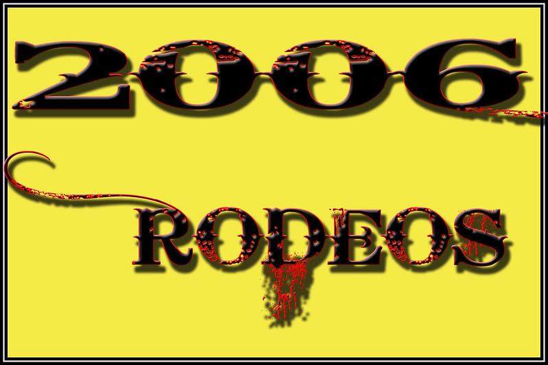 2006 RODEOS