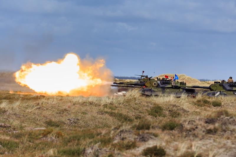 Leopard 1 live fire