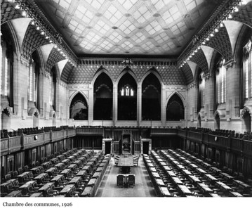 House of Commons Chamber - Chambre des communes, 1926