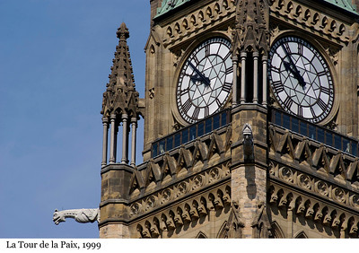 Peace Tower - La Tour de la Paix, 1999