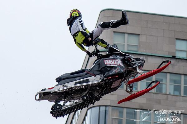 Motoneige MTL Xtrem Centre-ville 05-02-17