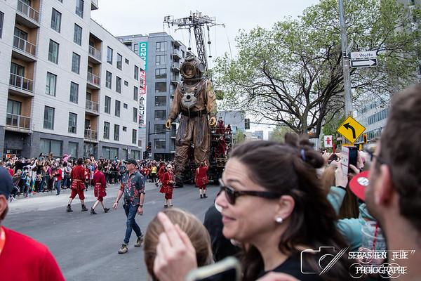 Parade des Géants Mtl 21-05-17