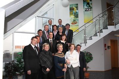 Framkvæmdastjórn ÍSÍ 2007-2009 ásamt framkvæmdastjóra ÍSÍ.