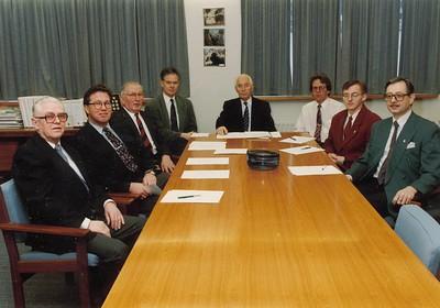 Framkvæmdastjórn Ólympíusambands Íslands 1992.
