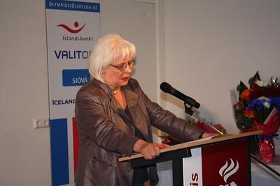 Móttaka Íþróttasamband fatlaðra 2012