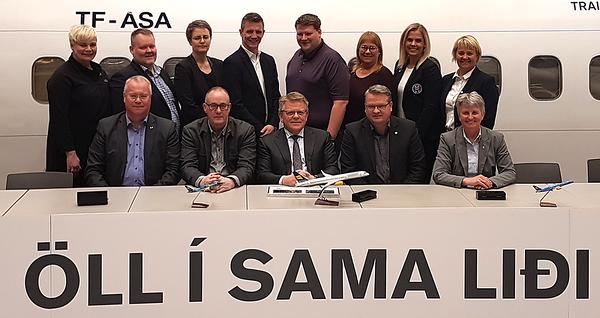 Samstarfssamningur ÍSÍ og Icelandair undirritaður árið 2018