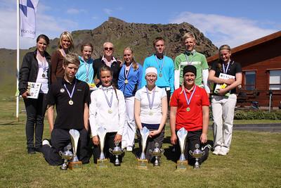 Sunna Víðisdóttir, Guðmundur Ágúst Kristjánsson, Guðrún Brá Björgvinsdóttir, Karen Guðnadóttir, Rúnar Arnórsson, Magnús Björn Sigurðsson, Breglind Björnsdóttir, Guðrún Pétursdóttir, Þórdís Rögnvaldsdóttir, Ragnhildur Kristinsdóttir, Sara Margrét Hinriksdóttir, Arndís Eva Finnsdóttir,