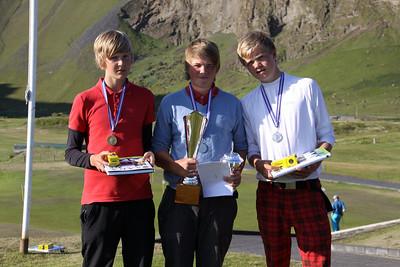 Kristinn Reyr Sigurðsson, Birgir Björn Magnússon, Gísli Sveinbergsson,