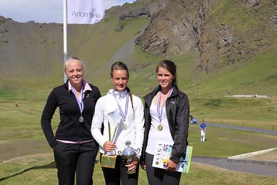 Guðrún Brá Björgvinsdóttir, Guðrún Pétursdóttir, Sunna Víðisdóttir,