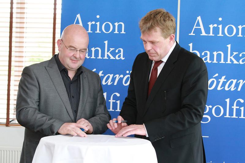 Hörður Þorsteinsson og Höskuldur H. Ólafsson