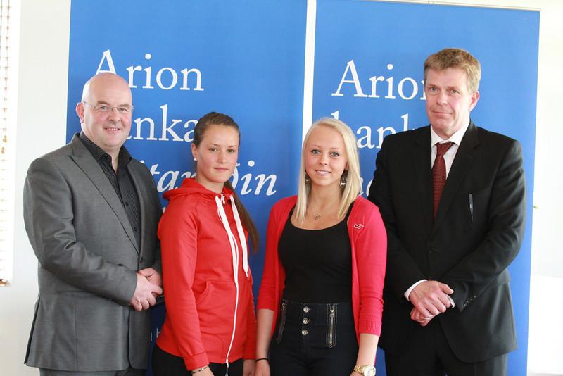 Hörður Þorsteinsson, Guðrún Brá Björgvinsdóttir, Rún Pétursdóttir og Höskuldur H. Ólafsson