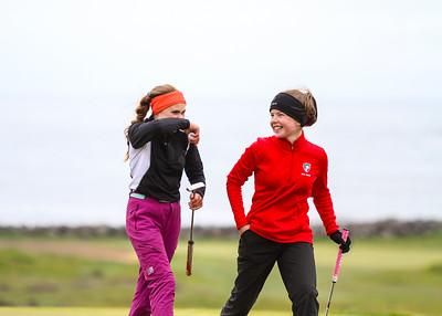 Kinga Korpak GS, Eva María Gestsdóttir, GKG. Mynd/seth@golf.is