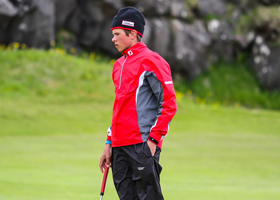 Kristófer Tjörvi Einarsson, GV. Mynd/seth@golf.is