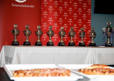 Lokahóf Íslandsbankamótaraðarinnar 2017.