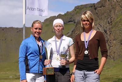 Karen Guðnadóttir, Arndís Eva Finnsdóttir, Berglind Björnsdóttir,