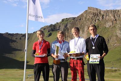 Kristinn Reyr Sigurðsson, Birgir Björn Magnússon, Gísli Sveinbergsson, Hallgrímur Júlíusson,