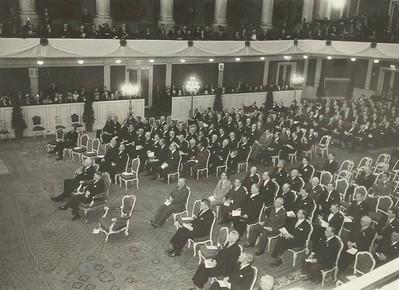 Frá setningu Ólympíuþings í Vínarborg 1951.