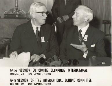 Fundur IOC í Róm 1966.