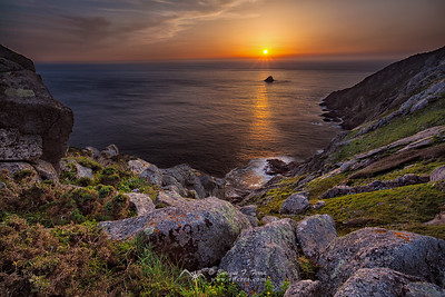 Sunset in Finisterre