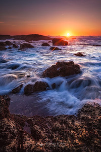 Sunset in  Muxia