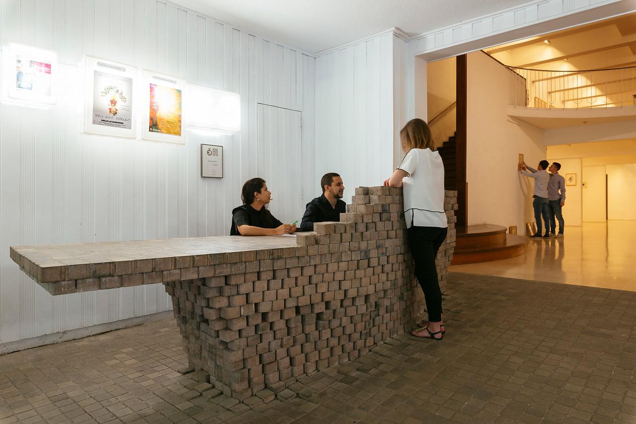 Intervenvión Fernando Menis en Círculo de Bellas Artes de Santa Cruz de Tenerife