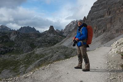 In den Dolomiten bei den 3 Zinnen