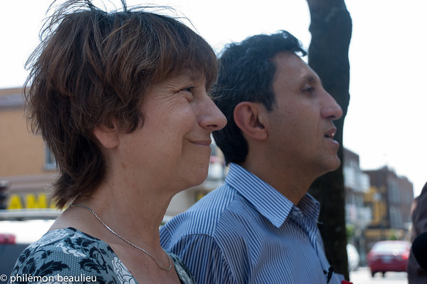 conférence de presse de québec solidaire
