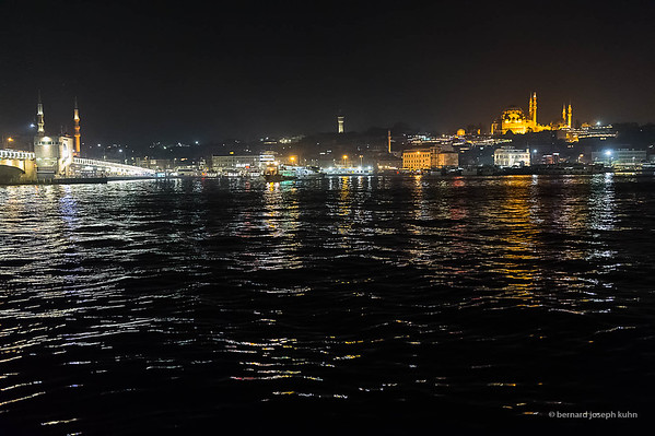 Pont de Galata et Süleymaniye Camii