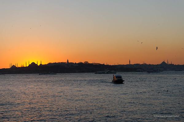 De/From Sultanahmet Camii à/to Süleymaniye Camii