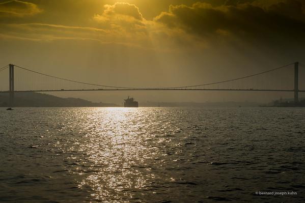 1er pont sur le Bosphore