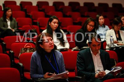 """2017  оны аравдугаар сарын 27. """"Орон сууц худалдан авах боломжийн индекс, Монгол Улсын моргейжийн зах зээлийн хөгжил"""" судалгааг танилцууллаа. ГЭРЭЛ ЗУРГИЙГ Г.ӨНӨБОЛД/MPA"""