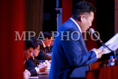2017оны арваннэгдүгээр сарын 08. МҮЭХ-ны ээлжит XXII Их хурал. ГЭРЭЛ ЗУРГИЙГ Г.ӨНӨБОЛД /МРА