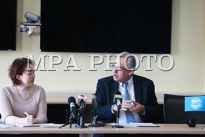 2018 оны гуравдугаар сарын 29. ОУВС-аас мэдээлэл хийлээ.  ГЭРЭЛ ЗУРГИЙГ Б.БЯМБА-ОЧИР/MPA