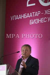 2017 оны хоёрдугаар сарын 20. Улаанбаатар хөрөнгө оруулалт бизнес уулзалт. ГЭРЭЛ ЗУРГИЙГ Б.БЯМБА-ОЧИР/MPA