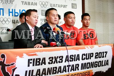 2017  оны аравдугаар сарын 19. Fiba 3x3 Asia Cup- 2017 тэмцээний талаар мэдээлэл хийлээ.  ГЭРЭЛ ЗУРГИЙГ Г.ӨНӨБОЛД/MPA