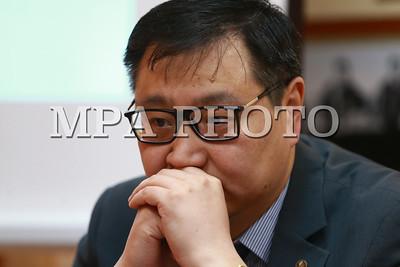 2018 оны дөрөвдүгээр сарын 26. Монголбанкнаас мэдээлэл хийлээ.  ГЭРЭЛ ЗУРГИЙГ Б.БЯМБА-ОЧИР/MPA