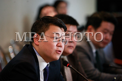 2018 оны нэгдүгээр сарын 25. Монгол банк-аас цаг үеийн асуудлаар мэдээлэл хийлээ. ГЭРЭЛ ЗУРГИЙГ Г.ӨНӨБОЛД /МРА
