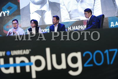 2017 оны арванхоёрдугаар сарын 02. Шинэ үеийн манлайлагчдын нэгэн дор нэгтгэсэн Unplug 2017 арга хэмжээ боллоо.  ГЭРЭЛ ЗУРГИЙГ Б.БЯМБА-ОЧИР/MPA