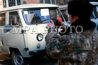 2018 оны нэгдүгээр сарын 05. Алслагдсан 8 аймгийн 9 суманд түргэн тусламжийн авто машин гардууллаа . ГЭРЭЛ ЗУРГИЙГ Г.ӨНӨБОЛД /МРА