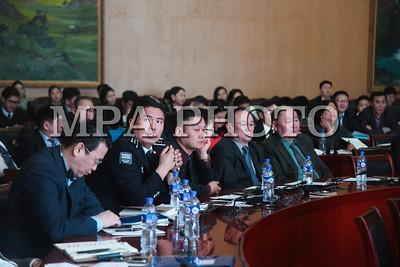 """2018оны Нэгдүгээр сарын 16.  """"Монгол улсын эрүүгийн эрх зүйн тогтолцоо ба хүний эрхийн хэрэгжилт"""" олон улсын хурал. ГЭРЭЛ ЗУРГИЙГ /МРА"""