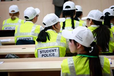 """2019 зургаадугаар сарын 03. """"Оюутан цагдаа 2019"""" нээлт боллоо. ГЭРЭЛ ЗУРГИЙГ Г.ӨНӨБОЛД /МРА"""