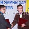 Монгол улс, Улаанбаатар хот. 2014 оны 1 дүгээр сарын 09. Аялал Жуулчлалын Үндэсний Төв, Монголын Сэтгүүлчдийн Эвлэл хамтран ажиллах санамж бичигт гарийн үсэг зурав. MPA PHOTO/ Г.ӨНӨБОЛД