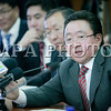 Монгол улс, Улаанбаатар хот. 2013 оны 10 дугаар сарын 24. Монгол Улсын Ерөнхийлөгч Ц.Элбэгдорж Нийслэл Улаанбаатар хотын удирдлагуудтай уулзалт хийлээ. Ерөнхийлөгч Ц.Элбэгдорж Нийслэлийн ажилтай танилцаж, нийслэлд тулгамдаж буй асуудлын талаар ярилцсан юм. ГЭРЭЛ ЗУРГИЙГ Б.БЯМБА-ОЧИР