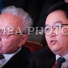 Монгол улс, Улаанбаатар хот. 2013 оны 10 дугаар сарын 27. Монгол Ардын намын 27-р Их хурал дээр Монгол Улсын Ерөнхий сайд асан Д.Содном монгол ардын намын гишүүн Л.Лхагважавын хамт сууж байна. Монгол Ардын намын 27-р Их хурал соёлын төв өргөөнд эхэллээ. Их хурлыг удирдан явуулж буй тус намын гишүүн, хурал зохион байгуулах комиссын дарга Д.Дэмбэрэл хурлын эхэнд энэ удаагийн Их хурлаар хэлэлцэх ерөнхий асуудлууд, хурлын хөтөлбөрийг танилцуулав. Танилцуулснаар, Их хурлаар есөн үндсэн асуудал хэлэлцэх бөгөөд үүнд, МАН-ын дарга Ө.Энхтүвшингийн улстөрийн илтгэл, Мандатын комиссын илтгэл, намын 26-р Их хурлаас хойш хийж гүйцэтгэсэн ажлын тайлан, Хяналтын ерөнхий хорооны тайлан, МАН-ын дүрмийн асуудлаарх салбар хуралдааны мэдээлэл сонсох, Намын дүрэмд өөрчлөлт оруулах тухай салбар хуралдааны мэдээлэл сонсох, Монгол Улсын 2021 он хүртэлх хөгжлийн зорилт, Намын үйл ажиллагааны шинэчлэлийн талаарх дүгнэлт, Зохион байгуулалтын асуудал зэрэг багтжээ. Их хурлаас гол хүлээлт үүсгээд буй зохион байгуулалтын асуудалд Монгол Ардын намын даргыг сонгох тухай, Бага хурлын гишүүдийг сонгох тухай, Хяналтын ерөнхий хорооны гишүүдийг сонгох тухай гэсэн асуудал багтжээ. Их хурал гурван өдөр үргэлжилж, аравдугаар сарын 29-нд өндөрлөх юм. <br /> ГЭРЭЛ ЗУРГИЙГ БЯМБАСҮРЭНГИЙН БЯМБА-ОЧИР