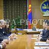 """Монгол улс, Улаанбаатар хот. 2013 оны 10 дугаар сарын 26. Монгол Улсын Ерөнхий сайд Н.Алтанхуяг манай улсад айлчилж буй Францын Гадаад хэргийн сайд Лоран Фабиусыг хүлээн авч уулзахдаа Монгол Францын худалдаа, эдийн засгийн харилцаа идэвхжин хөгжиж байгаад талархлаа илэрхийллээ. Эрчим хүчний салбар, хөдөө аж ахуй, дэд бүтцийн хамтын ажиллагаа нь хоёр орны харилцааны тэргүүлэх чиглэл болохыг тэмдэглэж байлаа.<br /> Манай улс хөдөө аж ахуй, тэр дундаа мал аж ахуйн бүтээгдэхүүнээр баялаг. Мал, ургамлын гаралтай бүтээгдэхүүнийхээ чанар, техник технологийг улам сайжруулах, хүнсний органик """"Монгол брэнд"""" бий болгон Европийн зах зээлд экспортлох сонирхолтой байгаагаа Ерөнхий сайд илэрхийлээд энэ чиглэлд Франц улс хамтарч ажиллах, дэмжлэг үзүүлэхийг хүслээ.<br /> Францын Гадаад хэргийн сайд ноён Лоран Фабиус энэ үеэр """"Хөдөө аж ахуй, хүнсний салбарын хамтын ажиллагаагаа өргөжүүлэх нь зүйтэй гэсэн Ерөнхий сайдыг саналыг дэмжиж байгаа илэрхийллээ. Мөн сансар судлал, хиймэл дагуул хөөргөх зэрэг харилцаа холбооны салбарт хамтрах сонирхлоо илэрхийлж байлаа<br /> . <br /> ГЭРЭЛ ЗУРГИЙГ БЯМБАСҮРЭНГИЙН БЯМБА-ОЧИР"""
