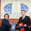 Монгол улс, Улаанбаатар хот. 2014 оны 1 дүгээр сарын 15. Гадаад харилцааны яам НҮБ-ын Хөгжлийн хөтөлбөртэй хамтранхэрэгжүүлэх Далайд гарцгүй хөгжиж буй орнуудын Олон улсын судалгааны төвийн (ДГХБО-уудын ОУСТ) үйл ажиллагааг эхлүүлэх төслийн баримт бичигт Гадаад харилцааны сайд Л.Болд, НҮБ-ын Хөгжлийн хөтөлбөрийн Суурин төлөөлөгч Сезин Синаноглу нар өнөөдөр гарын үсэг зурлаа. <br /> <br /> <br />   <br /> MPA PHOTO/ Б.БЯМБА-ОЧИР