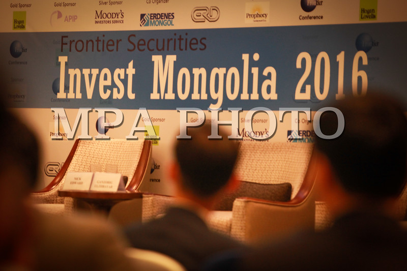2016 оны есдүгээр сарын 05. Invest Mongolia 2016 чуулга уулзалт Шангри-Ла зочид буудалд болж байна. ГЭРЭЛ ЗУРГИЙГ Г.ӨНӨБОЛД /МРА