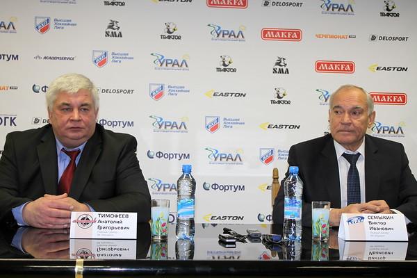 Анатолий Тимофеев, Виктор Семыкин