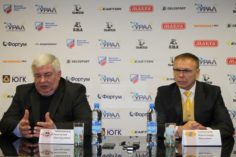 Анатолий Тимофеев, Александр Соколов