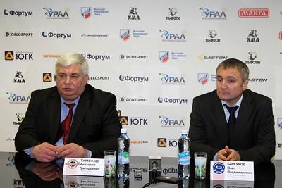 Анатолий Тимофеев и Олег Барсуков